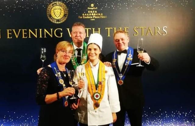 Emmiina Lehtosen kilpailumenu vetosi tuomareihin ja toi nuorelle kokille pronssia.