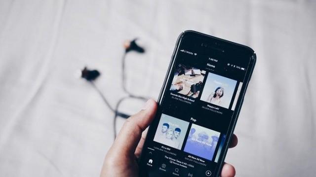 Spotify on yksi käytetyimpiä musiikin suoratatoistopalveluita.