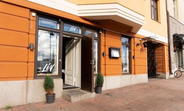 Ravintola LiV avattiin helmikuussa Laukontorille.