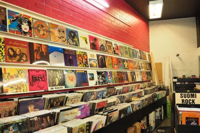 Black and White Records Hakaniemessä on musiikkiharrastajan keidas.