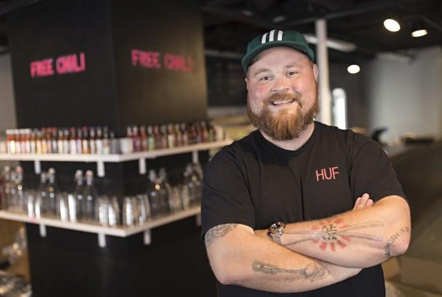 Akseli Herlevin missiona on tehdä Naughty BRGRista maailman paras hampurilaisravintola.