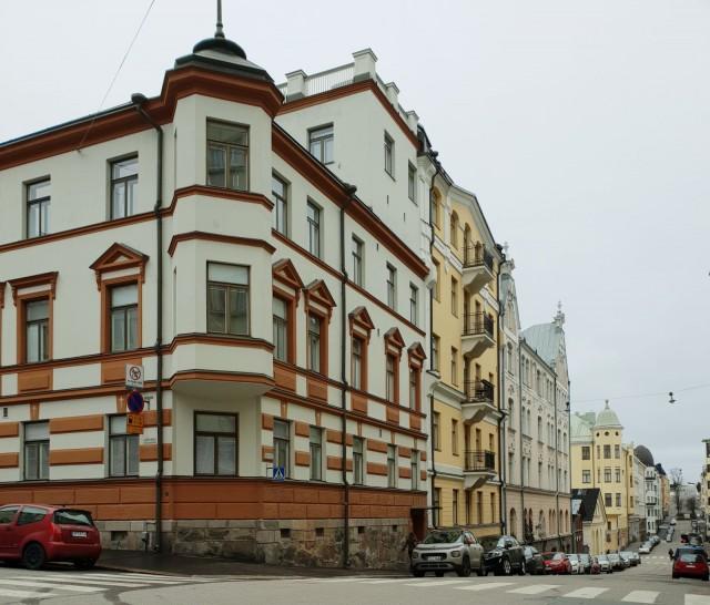 Kaunista entisajan arkkitehtuuria Helsingissä