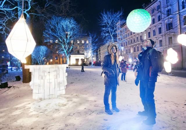 Valotaidefestivaali Lux Helsinki ihastuttaa 5.-9.1.2019.