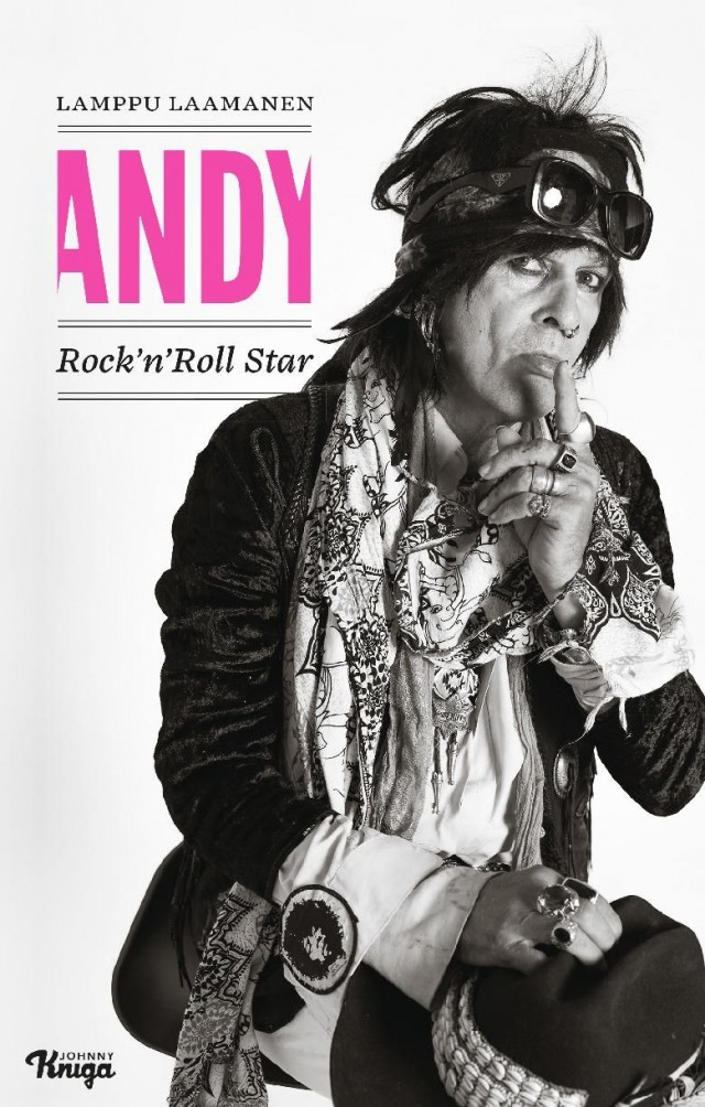 Kirja: Andy - Rock'n Roll Star - Lamppu Laamanen (Johnny Kniga, 2018)