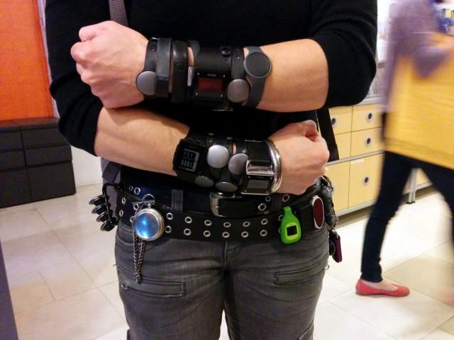 Itsensä mittaaminen on trendikästä. Ulkoisten laitteiden lisäksi sisäinen terveysmittaus on kasvussa. Kuva Cory Doctorow (CC BY-SA 2.0)