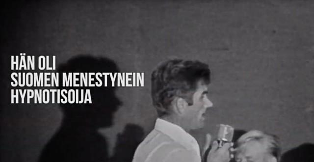 DocPoint tarjoaa mahdollisuuden tutustua Suomen kuuluisimpaan hypnotisoijaan Olliver Hawkiin.
