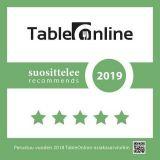 TableOnline suosittelee 2019 ravintolat ympäri Suomen