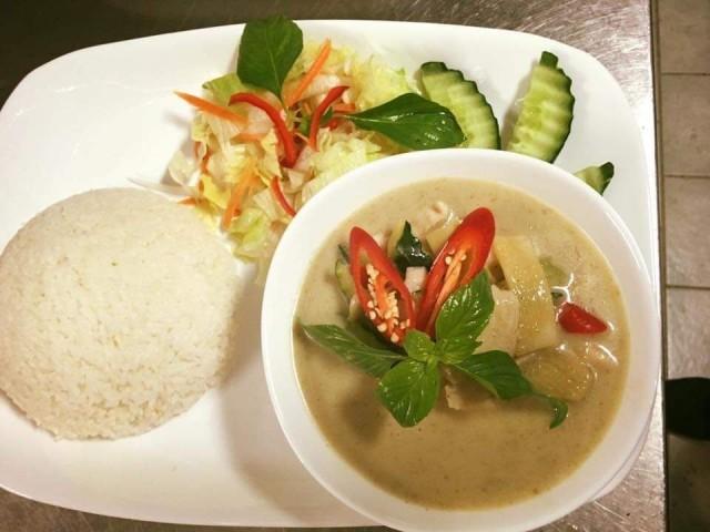 Kaikki Kratae Thai Cuisinen pääruoat ovat saatavilla myös tofulla.