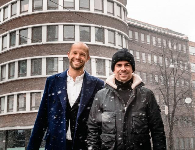 Andu Westerholm ja Matti Sarkkinen tuovat Sushibar + Winen Kallioon.