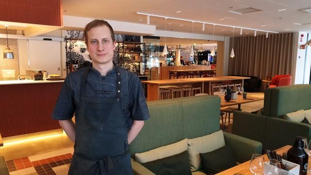 Markus Fogelholm suosii Platan keittiössä kotimaisia ja biodynaamisia kasviksia.