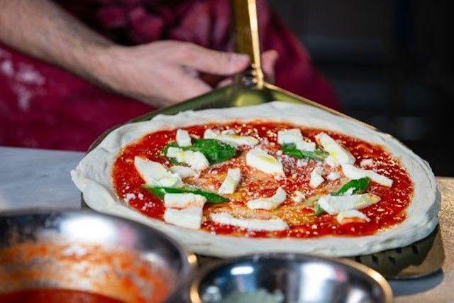 Pizzeria Lucan pizzoissa maistuvat tuoreet raaka-aineet.