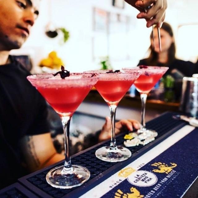 Myös uudessa ravintolassa nautiskellaan laadukkaista cocktaileista.