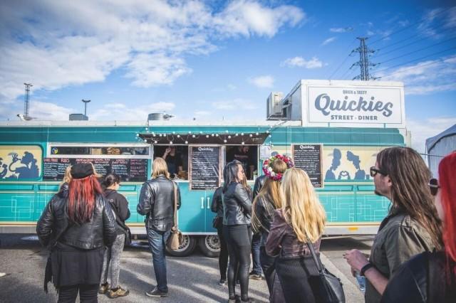 Quickies -ruokarekka saapuu huhtikuussa Querelle-festareille.