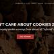 Esittelyssä I don't care about cookies -lisäosa