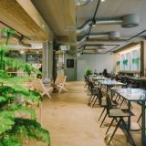 Ravintola Tullin Saunassa tarjoillaan aamiaista, lounasta, illallista sekä viikonloppubrunsseja. Kuva: Tullin Sauna.