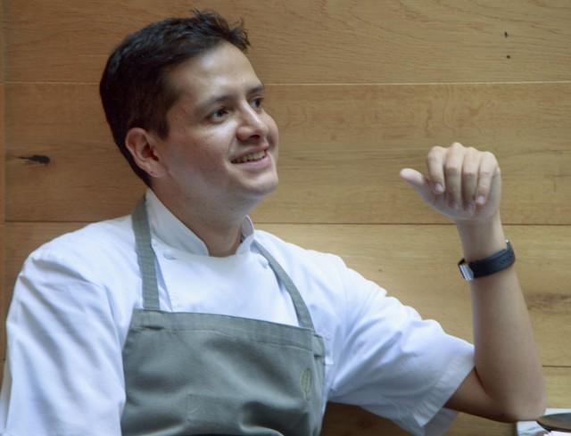 Jorge Vallejon ravintola Quintonil on rankattu maailman 11. parhaaksi ravintolaksi.