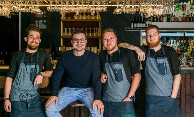 Vasemmalta oikealle Martin Jaska, Kirill Kornilov, Andres Abro sekä Gert Sarapuu.