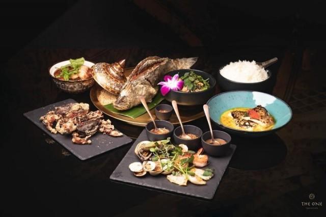 The One Thai Kitchenin annokset valmistetaan raaka-aineissa säästelemättä.