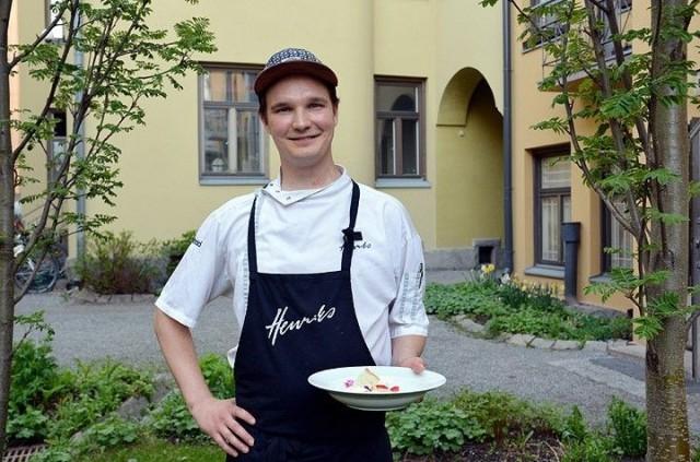 Valtteri Hakkarainen perustaa tekemisensä ammattitaidolle ja puhtaille raaka-aineille.