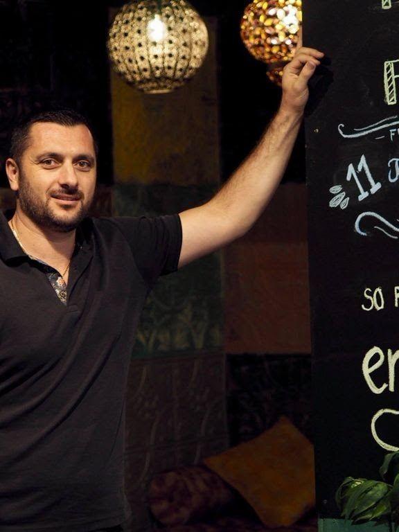 Joseph Youssef haluaa tarjota Sandrossa mahdollisimman autenttisia makuja.
