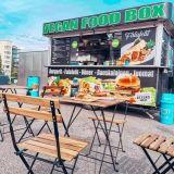 Vöneriä ja Beyond Burgereita – Vegan Food Box on grilli, jossa jopa