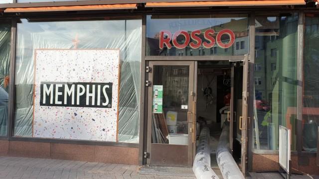 Ympyrätalon Rossosta muotoutuu Memphis.