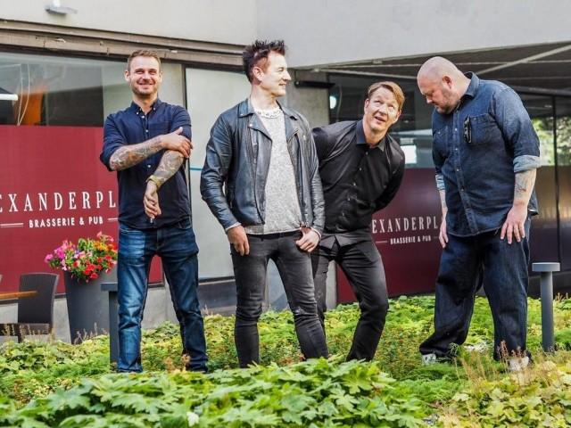 Angelo Dinato, Sampo Kantele, Alexander Gullichsen ja Jukka Nykänen muodostavat Alexanderplatsin rautaisen ydintiimin.