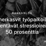 Viherkasvit työpaikoilla vähentävät stressioireita 50 prosenttia