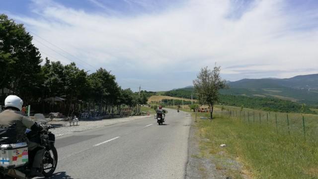 Matkalla Azerbaijanista Georgiaan.