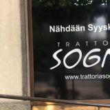 Trattoria Sogno löysi uuden kodin – Sijainti säilyy Töölössä