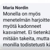 """Maria Nordin väittää käyttämiensä menetelmien auttavan epilepsiaan, pähkinäallergiaan ja jopa syöpään – """"Mitä pelkäätte?"""" hän kysyy kriitikoilta"""