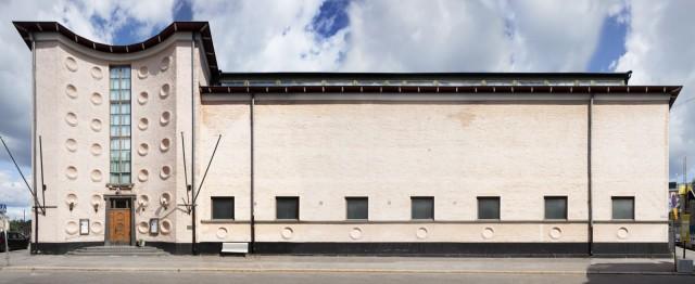 Taidehallin tilat tarjoavat upeat puitteet uudelle Finnjävelille.