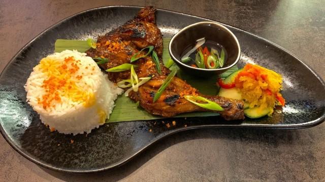 Ravintola Kainan tuo SYÖ!-viikoille aitoja filippiiniläisiä makuja. Kuvassa kana inasal.