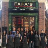 Fafa's avasi ravintolan Lontooseen