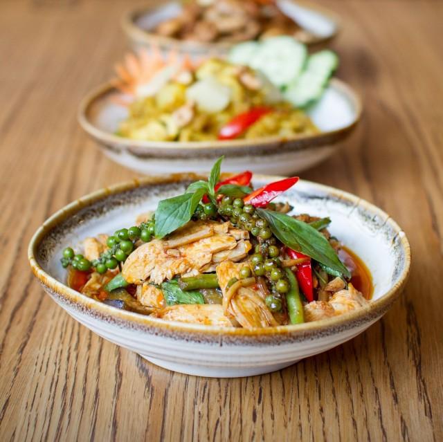 Tamarinissa maistellaan thaimaalaisia makuja.
