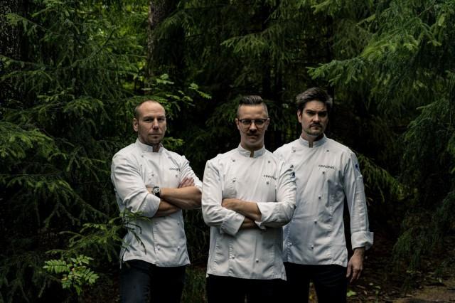 Tommi Tuominen, Ismo Sipeläinen ja Henri Alén nostavat perinnereseptit parrasvaloihin.