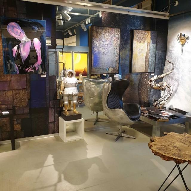 Erartan museomyymälästä voi ostaa nykytaidetta myös kotiin.