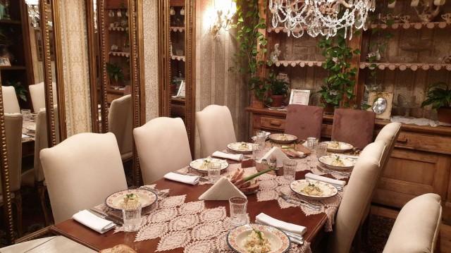 Neuvostonostalgiaa ravintola Mari Vannassa.