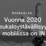 Vuonna 2020 peukaloystävällisyys mobiilissa on IN