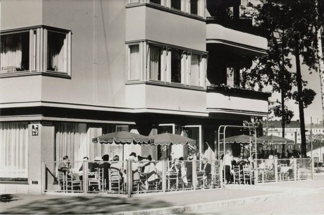 Lehtovaaran terassi vuonna 1941