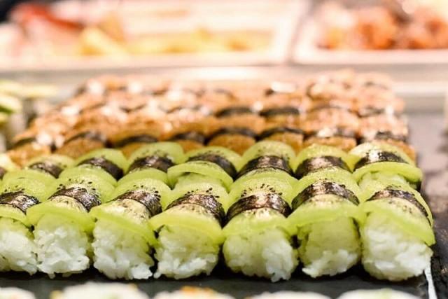 Itsudemossa tarjolla sushia myös kasvissyöjille.