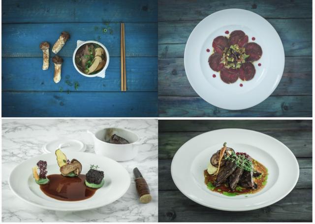 Saamelaiskulttuuri ja pohjoisen maut näkyvät Aanaarin ruoassa.