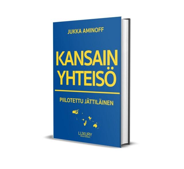 Kirja: Kansainyhteisö: Piilotettu jättiläinen - Jukka Aminoff (2020)