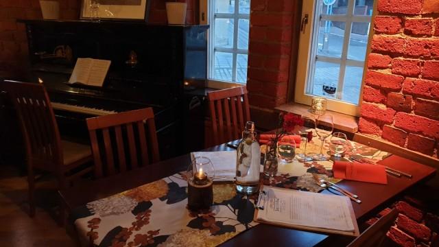 Myllärit on myös suosittu juhlatila, ja ravintolasta löytyy myös piano.