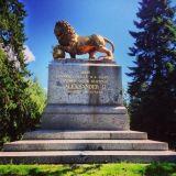 Hattulassa sijaitseva Parolan leijona on komea näky.