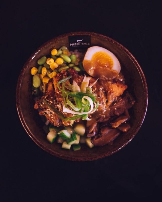 Curry Katsu Chicken Donburi.