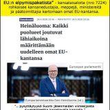 Mitkä ovat demareiden kannat EU:iin ja euroon?