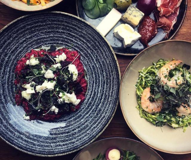 Passion take away -menu ei eroa paljoakaan ravintolassa nautittavasta versiosta.