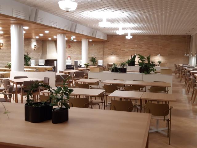 Ravintolassa on 120 asiakaspaikkaa.
