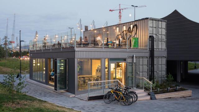 Konttiravintola Morton avasi ympäri vuoden toimivan ravintolan Helsinkiin loppuvuodesta 2020.